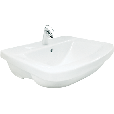 Panache Semi-Recessed Basin