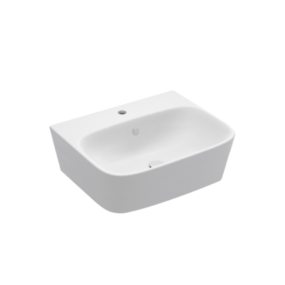 ModernLife Wall Hung Basin 1 tap hole