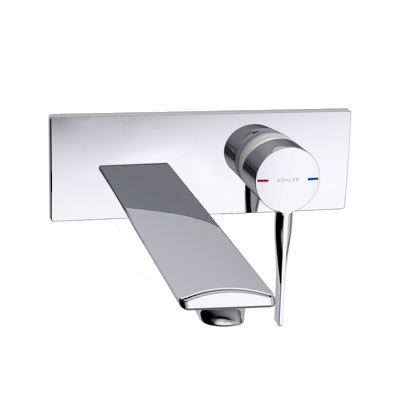 Stance Slim Wall Mount Basin Mixer