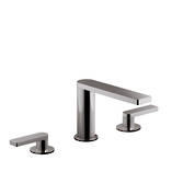 Composed 3TH Basin Set with Lever Handles Titanium