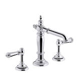 Artifacts 2-Handle Basin Set - Hob Mount