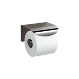 Avid Toilet Tissue Holder with Cover Titanium