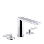 Composed 3TH Bath Set-Lever Handle Polished Chrome