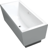 Evok Rectangular Freestanding BubbleMassage Bath