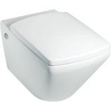 Escale Wall Hung Toilet with bevel flush button