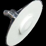 Moxie Showerhead + Wireless Speaker 8inch / 200mm