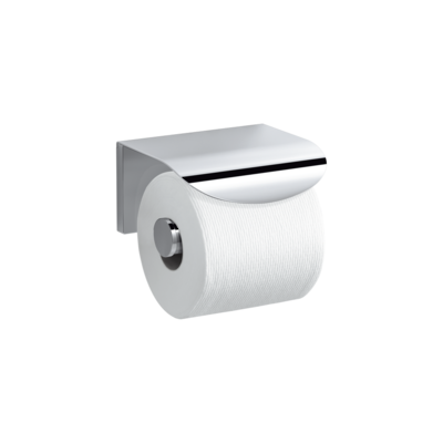 Avid Toilet Tissue Holder With Cover Polished Chrome