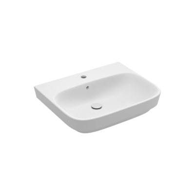 Modern Life Vessel Basin with Tap Hole
