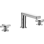 Composed 3TH Basin Set with Cross Handles Spare Parts