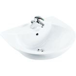 Odeon Semi-Recessed Basin 3TH