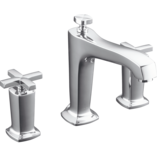 Margaux Bath Set with Cross Handles